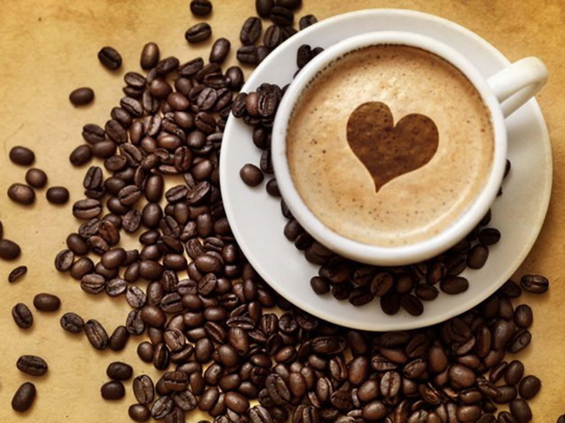 Фото чашечка кофе с любовью